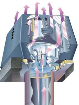 illustration af en røgsuger